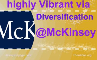 @McKinsey's community is Vibrant through Diversification