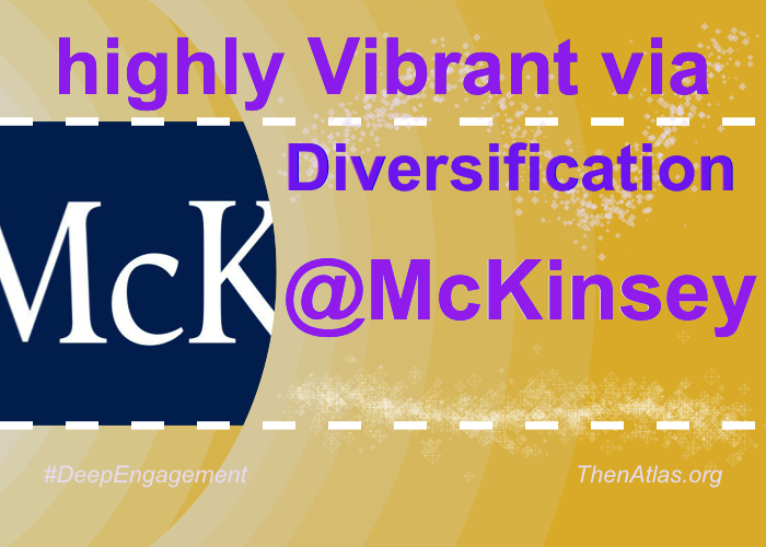 @McKinsey's community is Vibrant through Diversification