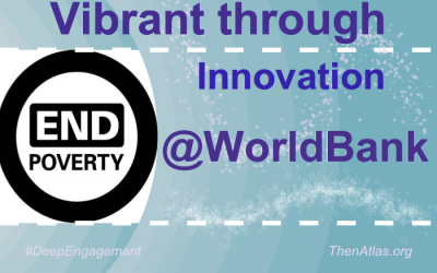 @WorldBank's community is Vibrant through Innovation