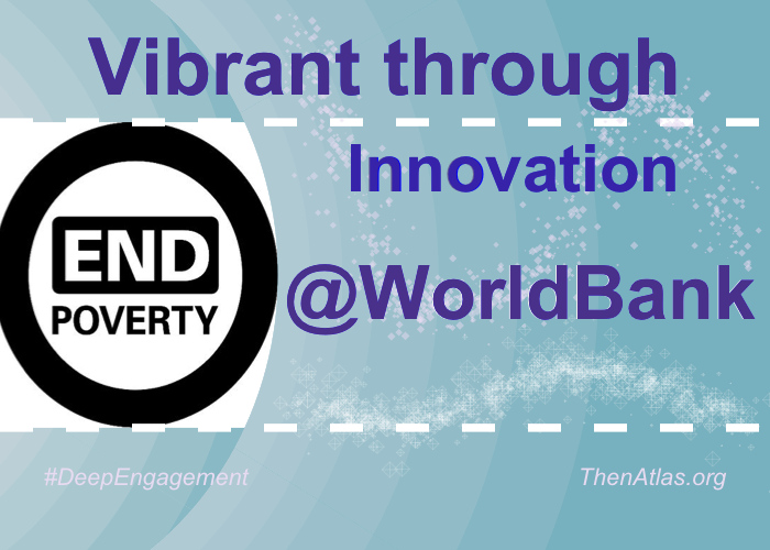 @WorldBank's community is Vibrant through Innovation